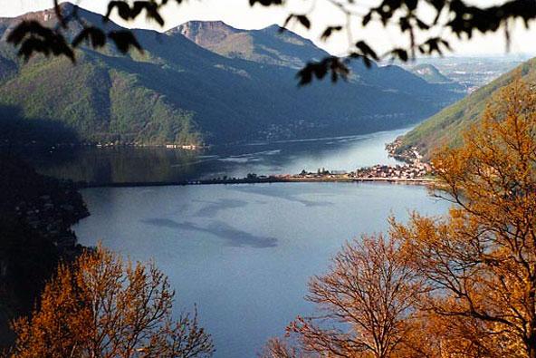 שווייץ: שיט באגם לוגאנו