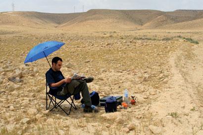 שביל ישראל: נחל חמר – מעלה עקרבים (מסלול 16)