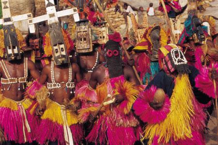 מאלי, אפריקה: סודות המסכה