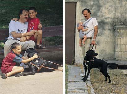 כלבי נחייה ועיוורים: רצים יחד