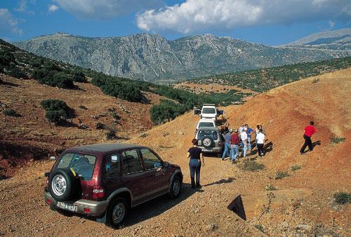 צפון יוון: טיול ג'יפים