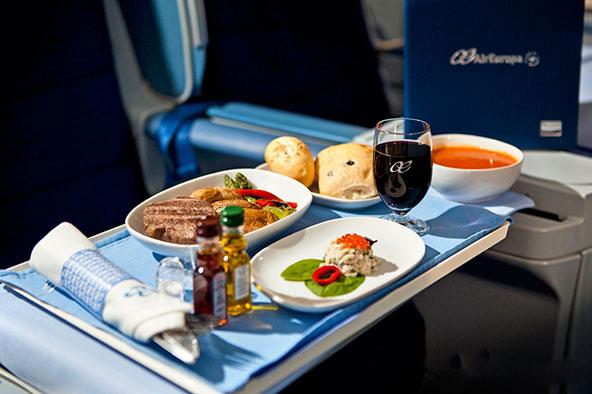 אייר אירופה תגיש יינות גורמה בטיסות