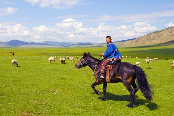 בארץ רוחות הערבה: מונגוליה