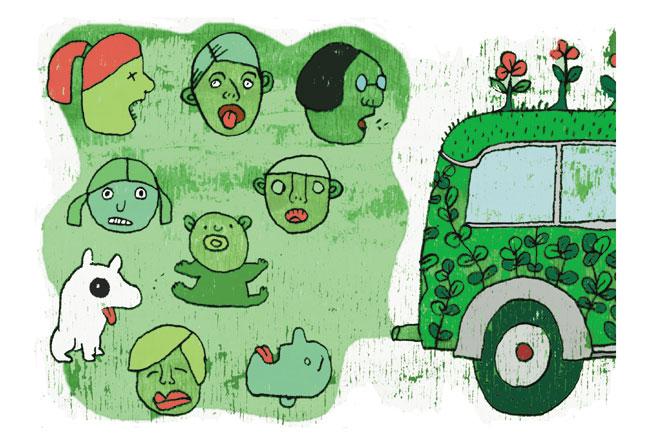 איכות הסביבה: ירוק צבוע