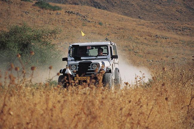 טיפים לנהיגת שטח: פנטזיה על נושא רומנטי