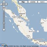 מפת סומטרה, אינדונזיה