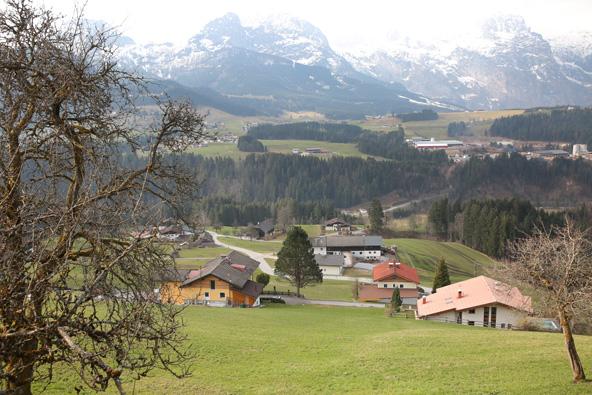 טיול באוסטריה – שטרודל עם נוף