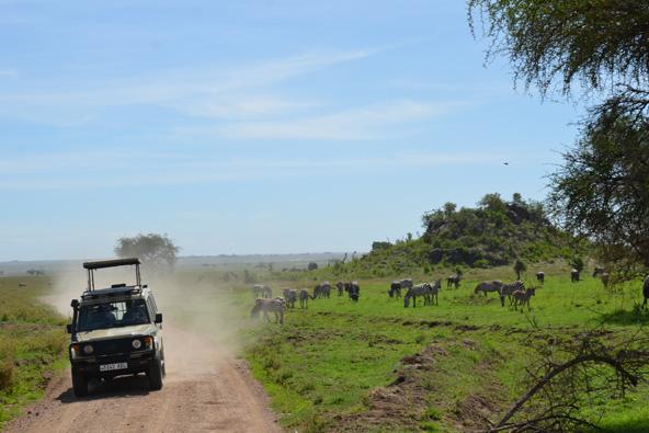 טיול משפחתי בטנזניה