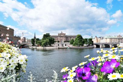 סטוקהולם בקיץ: שבוע בשמש הצפונית