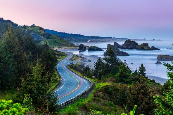 מסיאטל לסן פרנסיסקו: מסלול בחוף המערבי