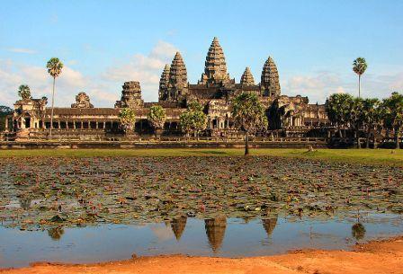 אחרי עשרות שנים הושלם שיפוץ המקדש באנגקור