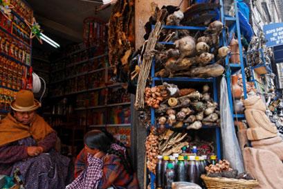 שוק המכשפות בלה פאס