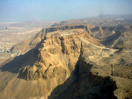 מצדה בראש אתרי התיירות הפופולריים בישראל