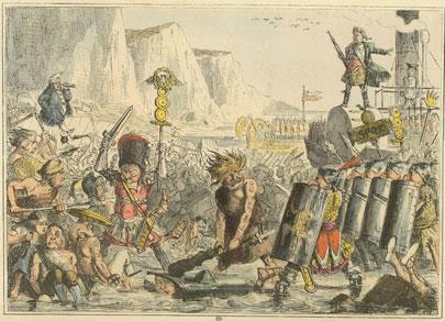 אנגליה: ההיסטוריה הקומית
