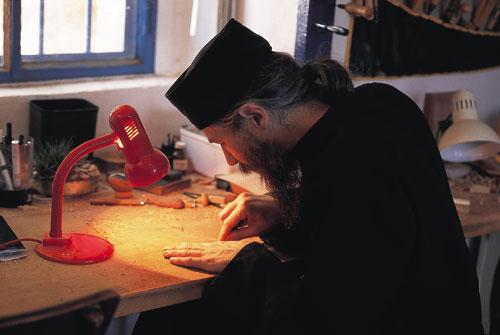 מנזר יוחנן במדבר – האח שמואל, צייר האיקונות