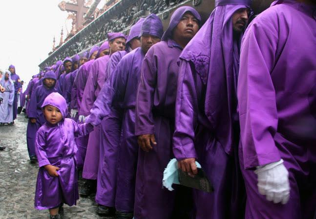 חגיגות השבוע הקדוש בגואטמלה