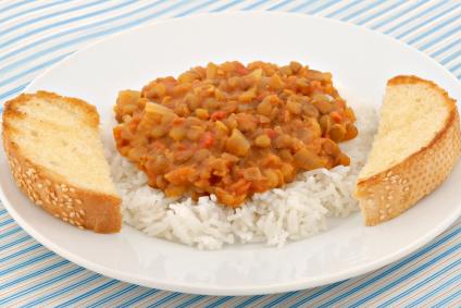 קצ'רי – מתכון בולגרי, אורז עם עדשים אדומות