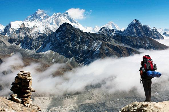 טרקים בנפאל: לשאוף אוויר פסגות
