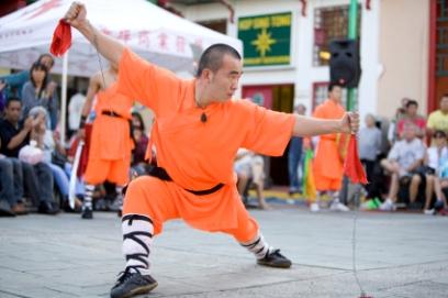 מנזר שאולין – לימודי קונג פו