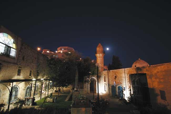 לילה בצפת העתיקה