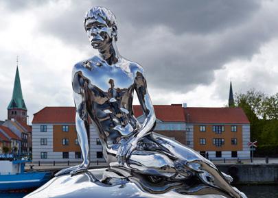 דנמרק: לבת הים הקטנה יש בן זוג נוצץ במיוחד