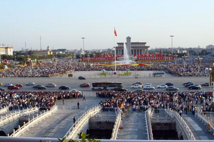 בייג'ינג – מעיר הסנונית לשלטון העם