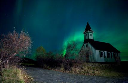 איסלנד בחורף: בין קור לחום