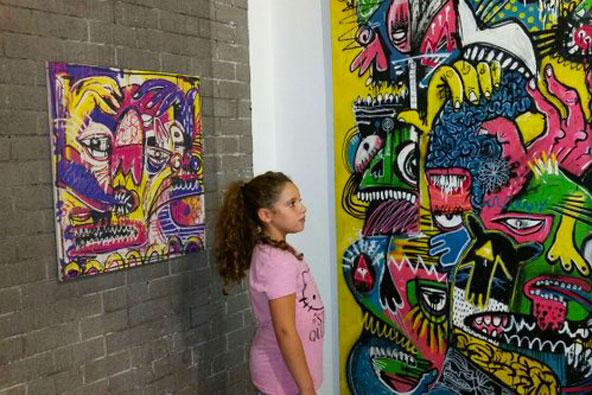 בגובה העיניים – אמנות רחוב במוזיאון הילדים