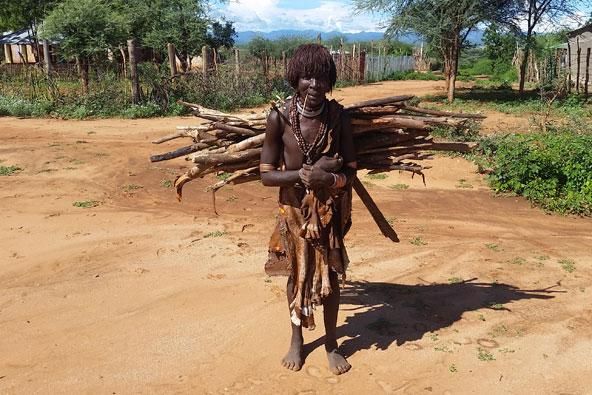 טיול בין שבטים בדרום אתיופיה