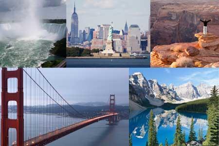 צפון אמריקה – גיאוגרפיה