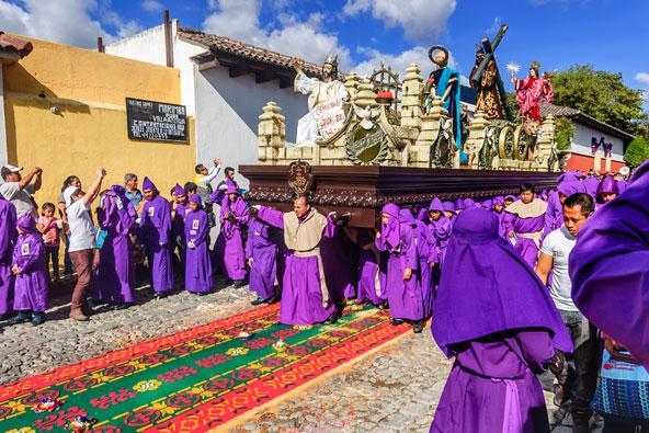 חגיגות הפסחא באנטיגואה, גואטמלה