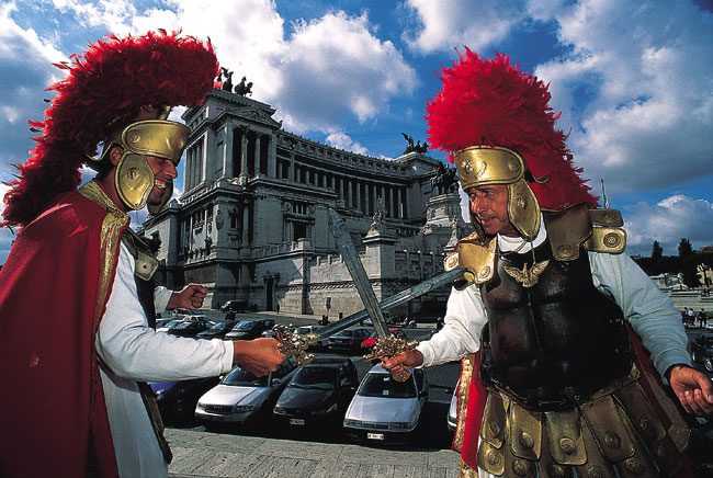 רומא עם ילדים: קטנים בעיר הגדולה
