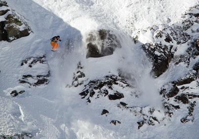 אקסטרים סקי – גלישת פרי רייד