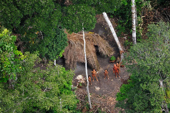 שבט לא מוכר התגלה ביער האמזונס