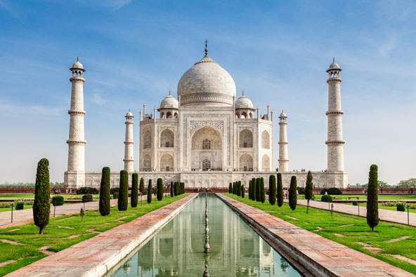 טאג' מהאל, הודו