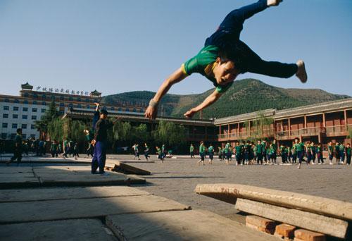 סין – בית ספר לקונג פו