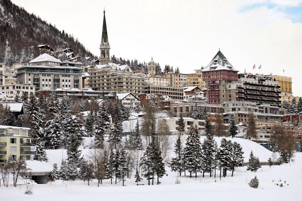 סנט מוריץ – האתר הנוצץ של שווייץ