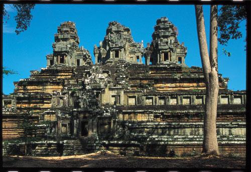 אנגקור ואט בקמבודיה: מקדשים ביער