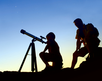 צופים בכוכבים: לילה על הר לא קירח