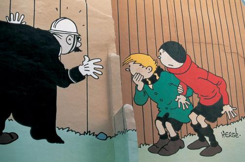 בלגיה: טינטין וחברים
