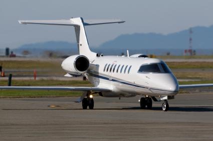 טרמפ במטוס פרטי