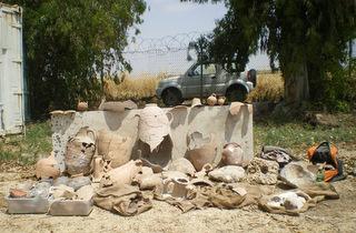 נתפס ארכיאולוג שגנב ממצאים מחפירות ארכיאולוגיות