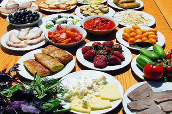 אוכל קווקזי – ריח הלחם, ניחוח דושפרה