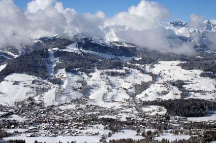 ארבעה אתרים באלפים הצרפתים
