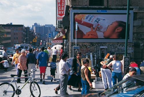 ניו יורק: בהארלם שחור הוא לבן
