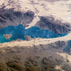 מפת האגם השחור, מערב מונגוליה