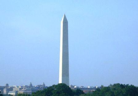 אנדרטת וושינגטון נפגעה ברעידת האדמה