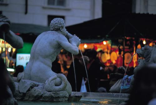 רומא – מזרקות חוג הסילון