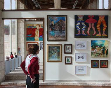 """מוזיאון """"אילת עירי"""" וגלריית  אמני  אילת"""