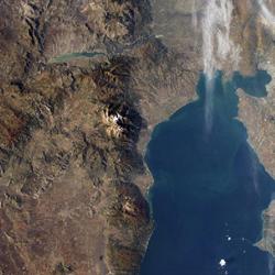 מפת הר האולימפוס, יוון